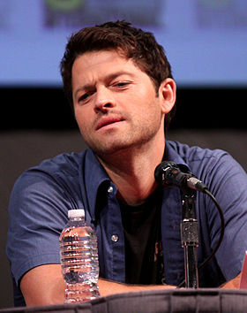 Misha Collins, interprète de Castiel.