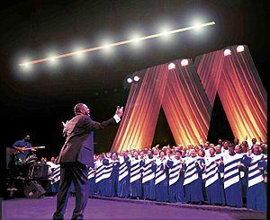 Mississippi Mass Choir - Image: Missmasschoir