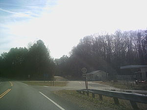 Popes Creek (Virginia) - Modern-day facilities in the community of Popes Creek, including a Virginia Department of Transportation service depot