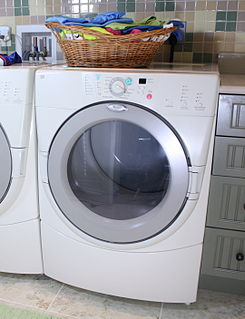 Clothes dryer Appliance used for drying wet clothes