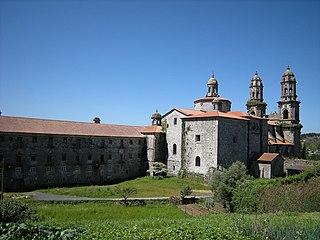 Sobrado Abbey Cistercian monastery in Galiza, Spain