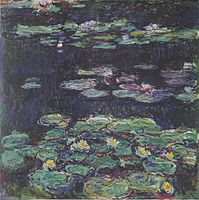 White And Yellow Water Lilies, (1915u20131917), Kunstmuseum Winterthur,  Winterthur, Switzerland