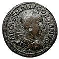 Monnaie en bronze, Antioche, Pisidie, Gordien III, face.jpg