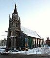 Montréal, 17 déc. 2010. Église St-Sauveur, rue St-Denis.jpg