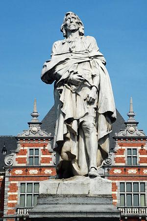 Frans Anneessens - Statue of François Anneessens by Thomas Vinçotte