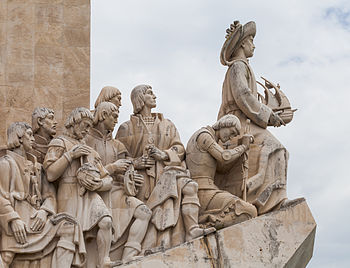 Monument to the Discoveries in Belém (Lisbon), Portugal