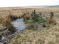 Moorland Fence on Stony Hill - geograph.org.uk - 400148.jpg