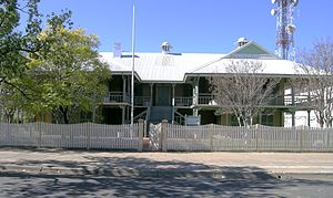 Moree, New South Wales - Moree Lands Office, Frome Street