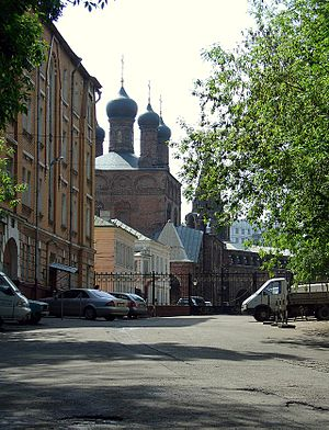 Krutitsy - Entrance and Dormition Cathedral.