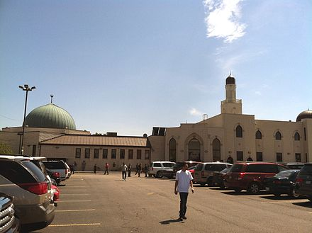 Mosque Foundation, the center of Islamic life in Bridgeview Mosque Foundation 1.jpg