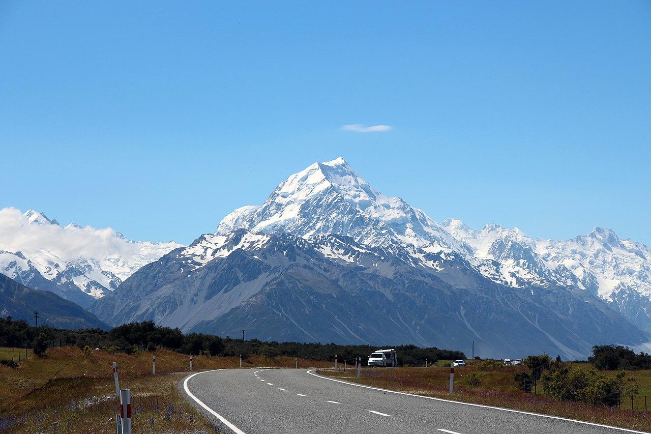 New Zealand Wikipedia: File:Mount Cook, New Zealand.jpg