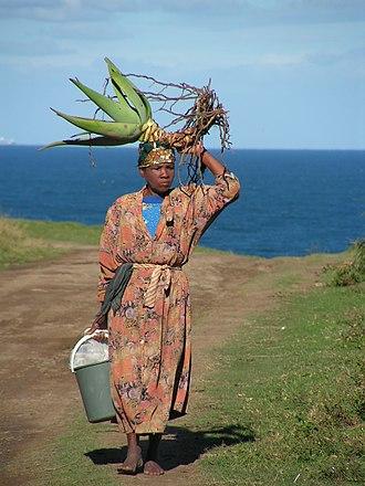 Mpondo people - A Mpondo woman