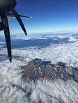 Mt Ruapehu as seen from NZ Q300 ZK-NEE (25913125704).jpg