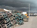 Mudeford, lobster pots stacked up - geograph.org.uk - 761751.jpg