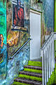 Mural and stairs (8377557085).jpg