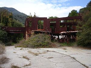 Murphy Ranch - The Murphy Ranch house in Los Angeles, 2006