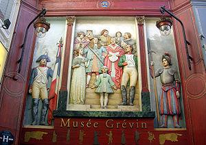 Musée Grévin - Entrance from passage Jouffroy