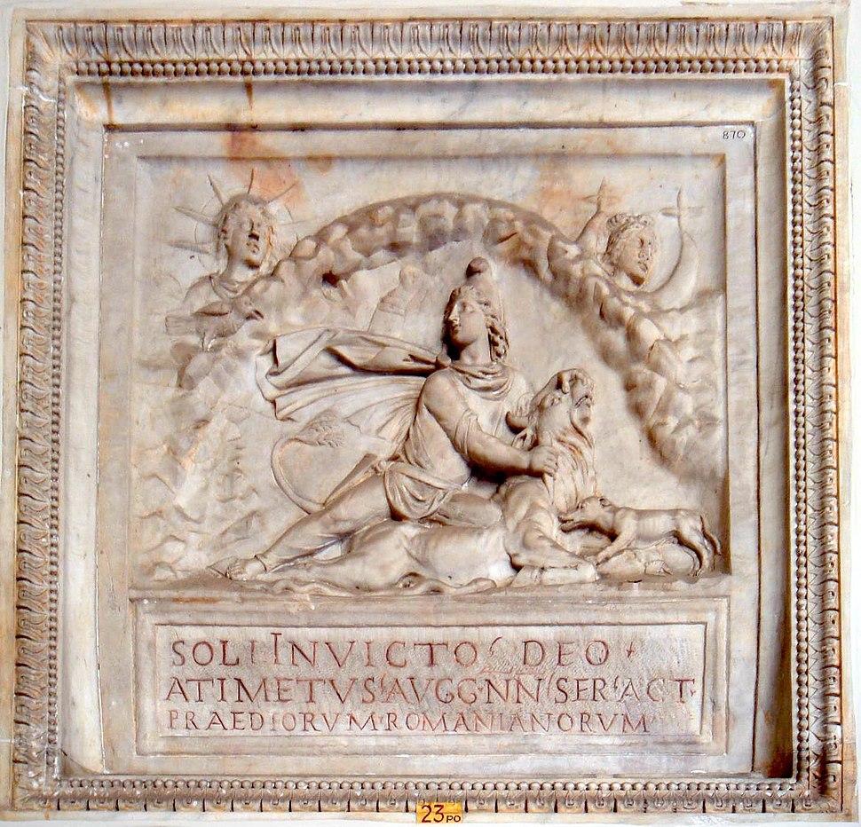 Musei Vaticani - Mithra - Sol invictus 01136