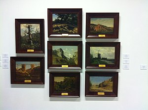 Carlos de Haes - Collection in the Museu d'Art Jaume Morera of Lleida