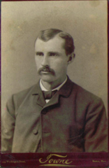 Mustachioed man by Towne of Boston USA.png