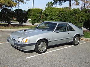 Ford Mustang SVO - Mustang SVO 1986