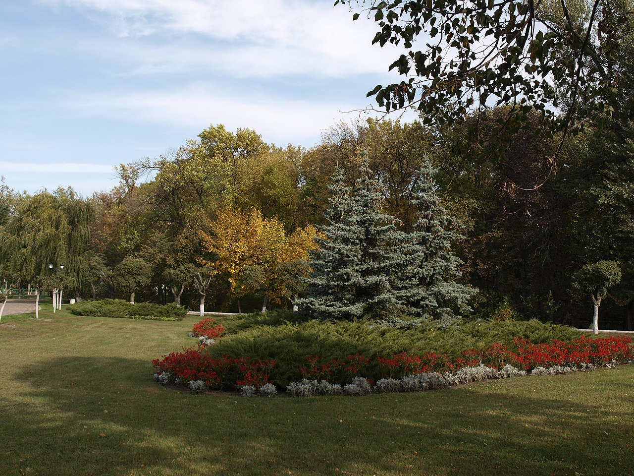 Парк в Миргороде