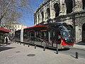 Nîmes Tango Irisbus Crealis Neo 18 n°708 T1 Boulevard des Arènes.JPG