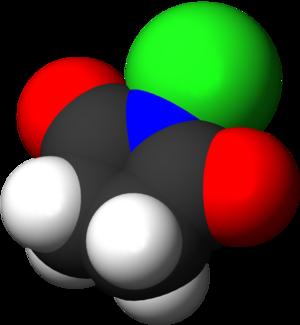N-Chlorosuccinimide - Image: N Chlorosuccinimide 3D