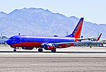 """N830IJ Southwest Airlines 2012 Boeing 737-8h4 C-N 36980-3952 """"Warrior One"""" (7346290994).jpg"""