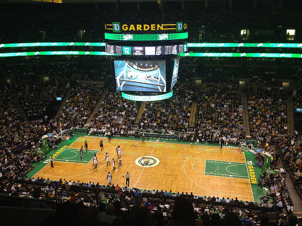 NBA - February 2014 - Celtics vs Spurs - TD Garden - 14