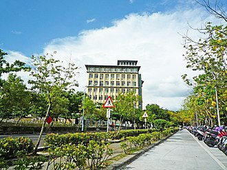 National Chiayi University - NCYU library in Lantan Main Campus