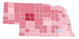 1992 United States presidential election in Nebraska - Image: NE1992