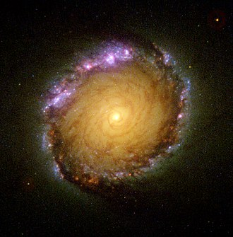 NGC 1512 - The inner ring of NGC 1512 as imaged by the Hubble Space Telescope (HST). Credit: HST/NASA/ESA.