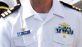 Awards and decorations of the National Oceanic and Atmospheric Administration - Example: NOAA Corps insignia, badges, and awards