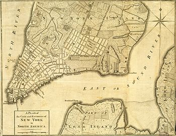 New York Map 1800.Bowery Wikipedia