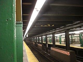 New York City Subway chaining