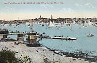NY Fleet in Marblehead Harbor