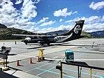 NZ all-black ATR 72 at Queenstown (23165203165).jpg
