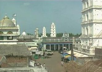 Nagapattinam district - Nagore Durgah, built in the 16th century is one of the major landmarks of the town