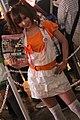 Namco Bandai Games promotional model at Tokyo Game Show 20100918 2.jpg