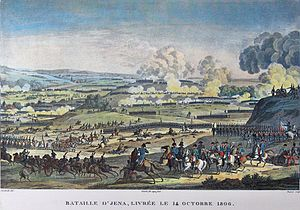 Jena - The battle of Jena in 1806