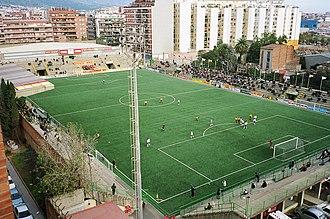 UE Sant Andreu - Municipal Narcís Sala, Sant Andreu's grounds