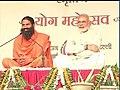 Narendra Modi attending the Yog Mahotsav at Ramlila Maidan in New Delhi.jpg