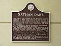 Nathan Dane historical marker.jpg