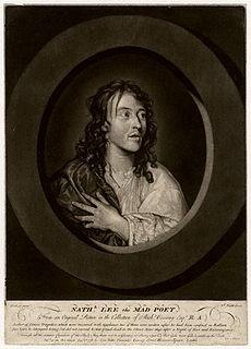 Nathaniel Lee British writer