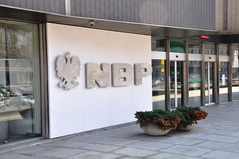 File:National Bank of Poland logo at Warsaw.jpg