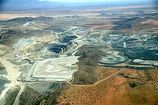 Mining in Namibia