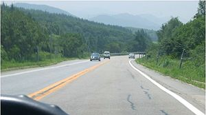 Local highways of South Korea - Image: Near Degwallyong IC Old Yeongdong Expressway