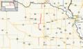 Nebraska Highway 121 map.png
