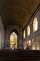 Nef et chœur de la basilique Saint-Sauveur, Dinan, France.jpg